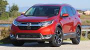 Honda CR-V 2017 là mẫu crossover an toàn nhất