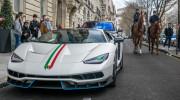 """Ngắm """"Siêu bò"""" triệu đô Lamborghini Centenario trên phố Pháp"""