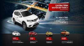 """Tháng 4, Nissan Việt Nam khuyến mãi """"khủng"""" lên tới 70 triệu đồng"""