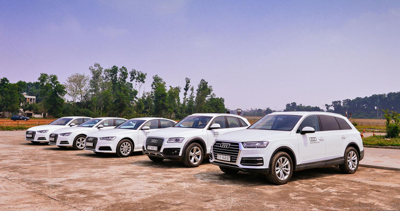 319 xe Audi phiên bản đặc biệt phục vụ APEC 2017 tại Đà Nẵng