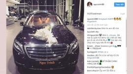 Ngọc Trinh tậu Mercedes-Maybach S400 giá gần 7 tỷ đồng