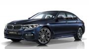 BMW 5-Series 2017 phiên bản trục cơ sở kéo dài lộ diện