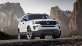 Thay đổi nhỏ trên Ford Explorer 2018