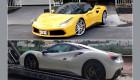 Cường đô la bán Ferrari 488 GTB màu trắng mua lại xe màu vàng
