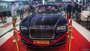 Dàn siêu xe và xe sang đình đám quy tụ tại một sự kiện ở Hà Nội