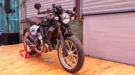 Vén màn Ducati Scrambler Cafe Racer đầu tiên tại Việt Nam