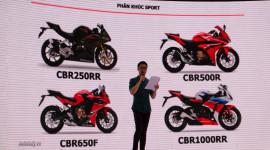 Honda công bố kinh doanh mảng xe phân khối lớn tại Việt Nam