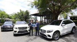 Mercedes-Benz Việt Nam bàn giao 3 xe SUV cho khu nghỉ dưỡng 5 sao