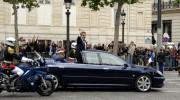 Tổng thống Pháp đi xe gì?