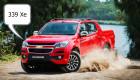 Chevrolet Colorado 2017 lọt top 10 xe bán chạy nhất tháng