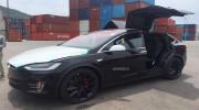 Siêu SUV chạy điện Tesla Model X  P100D đầu tiên về Việt Nam