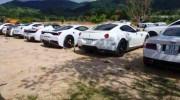 """Dàn xe Ferrari toàn màu trắng của """"ông trùm"""" café Trung Nguyên"""