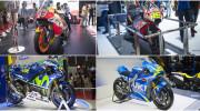 Cận cảnh 4 xe đua MotoGP vừa xuất hiện tại Việt Nam