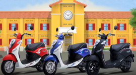 """SYM bán xe tay ga 50cc """"độc"""" cho học sinh Việt"""