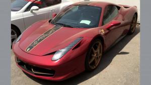 Ferrari 458 Italia phiên bản Rồng nằm phủ bụi tại Trung Quốc