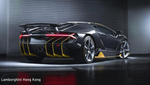 Lamborghini Centenario giá 1,9 triệu USD đầu tiên đến Hồng Kông