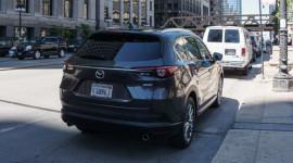 Mazda CX-8 hoàn toàn mới bất ngờ xuất hiện trên phố
