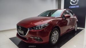 """""""Giá lăn bánh"""" Mazda3 2017 là bao nhiêu?"""