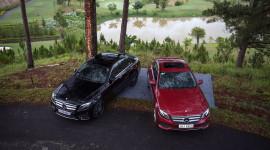 Mercedes-Benz Việt Nam giới thiệu bộ đôi E 250 và E 300 AMG lắp ráp