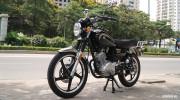 """Cận cảnh môtô 125cc của Yamaha có giá rẻ """"giật mình"""" tại Hà Nội"""