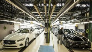 Infiniti Q50 2018 chính thức lên dây chuyền sản xuất