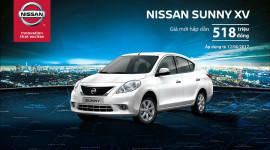 """Cơ hội """"vàng"""" để sở hữu Nissan Sunny và X-Trail"""