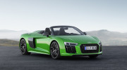 Audi R8 V10 Spyder Plus trình làng với sức mạnh 601 mã lực