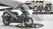 Yamaha NVX 155 ngầu hơn với bộ tem rằn ri, giá 52,7 triệu