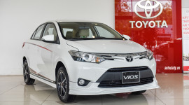 Chi tiết Toyota Vios TRD 2017 giá 644 triệu đồng tại Việt Nam