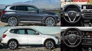 So sánh trực quan BMW X3 2018 và phiên bản tiền nhiệm