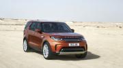 Land Rover Discovery 2017 đạt chuẩn an toàn 5 sao của ANCAP