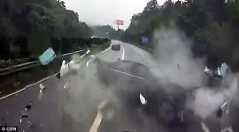 Hình ảnh khủng khiếp trong tai nạn khi không thắt dây an toàn