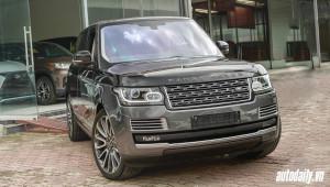 SUV siêu sang Range Rover SVAutobiography Hybrid đầu tiên về Việt Nam
