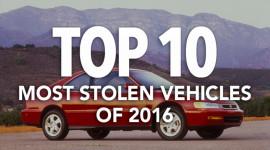"""""""Điểm mặt"""" 10 chiếc xe bị trộm nhiều nhất năm 2016"""