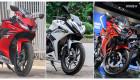 Chọn Honda CBR150R, Yamaha R15 hay Suzuki GSX-R150?