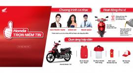 Honda Việt Nam tri ân khách hàng trên khắp cả nước