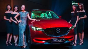 Mazda CX-5 thế hệ mới ra mắt tại Singapore, giá từ 105.433 USD