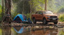 """Ford Ranger """"làm mưa, làm gió"""" tại châu Á – Thái Bình Dương"""