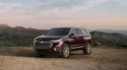 Chevrolet Traverse 2018 - Đối thủ Ford Explorer trình làng