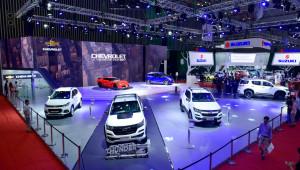 """Một không gian """"đậm chất Mỹ"""" của Chevrolet tại VMS 2017"""