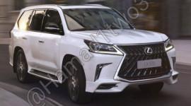 Lexus LX570S 2018 lộ ảnh nóng, đậm chất thể thao