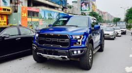 Siêu bán tải Ford F-150 Raptor 2017 đầu tiên về Hà Nội