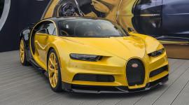Siêu phẩm Bugatti Chiron giá 3 triệu USD đầu tiên đến Mỹ