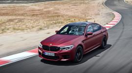 Siêu sedan BMW M5 2018 mạnh 600 mã lực chính thức ra mắt