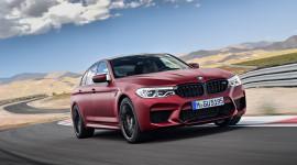 Ảnh chi tiết BMW M5 2018