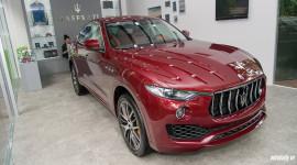 Khám phá Maserati Levante màu độc tại ngôi nhà Maserati Hà Nội