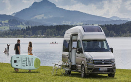 """Volkswagen giới thiệu """"ngôi nhà di động"""" California XXL Concept"""