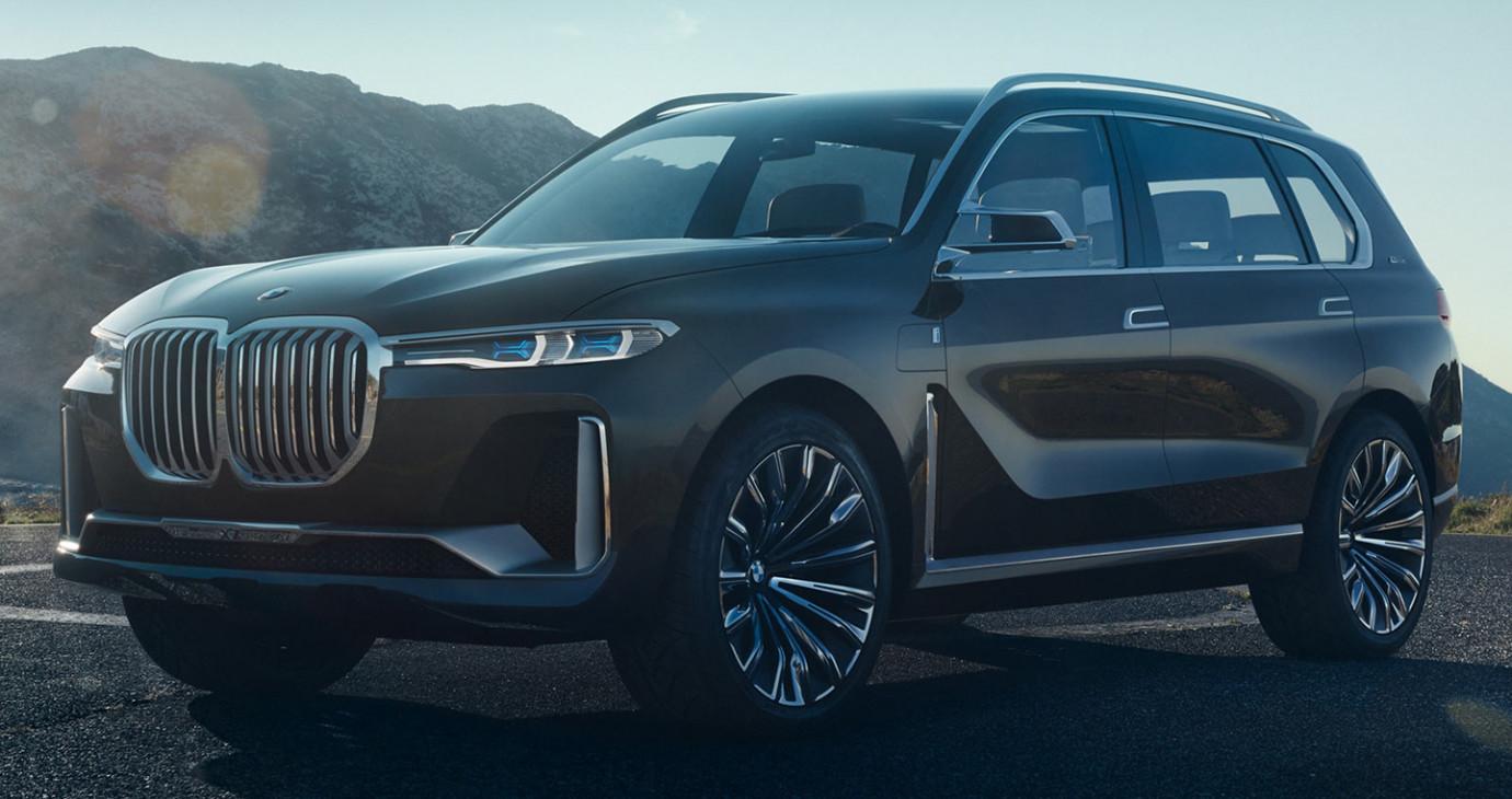 BMW giới thiệu X7 Concept, đối thủ tương lai của Mercedes GLS