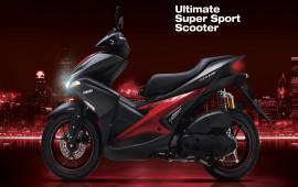 Yamaha giới thiệu màu mới cho NVX và nâng cấp lên phuộc dầu