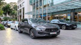 Dàn xe sang Maserati khuấy động Sài Gòn ngày cuối tuần